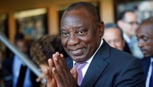 Cyril Ramaphosa presidente eleito do ANC