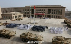 China inaugura primeira base militar no exterior