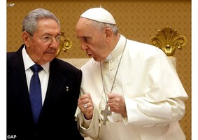 Encontro privado do Papa com Raul Castro